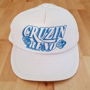 Vintage Cruzin' Reno Mesh Trucker Hat
